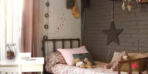 Και μπαίνω στο πιο όμορφο και αλλιώτικο παιδικό δωμάτιο...