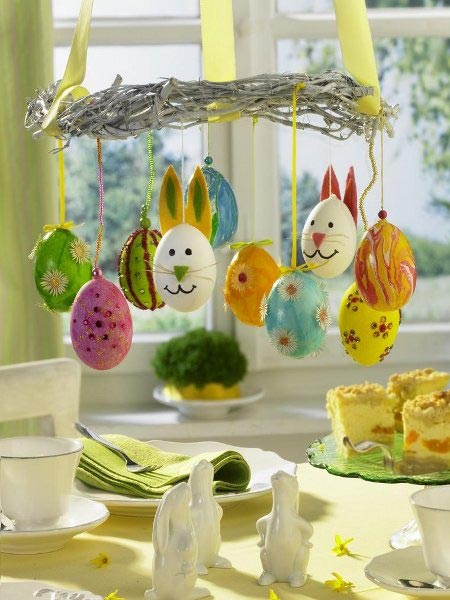 Easter decorating ideas imagine your homes - Deco de table de paques ...