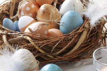 Πάσχα: Ιδέες διακόσμησης με αυγά.
