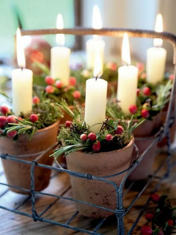 χριστουγεννιάτικα κηροπηγια