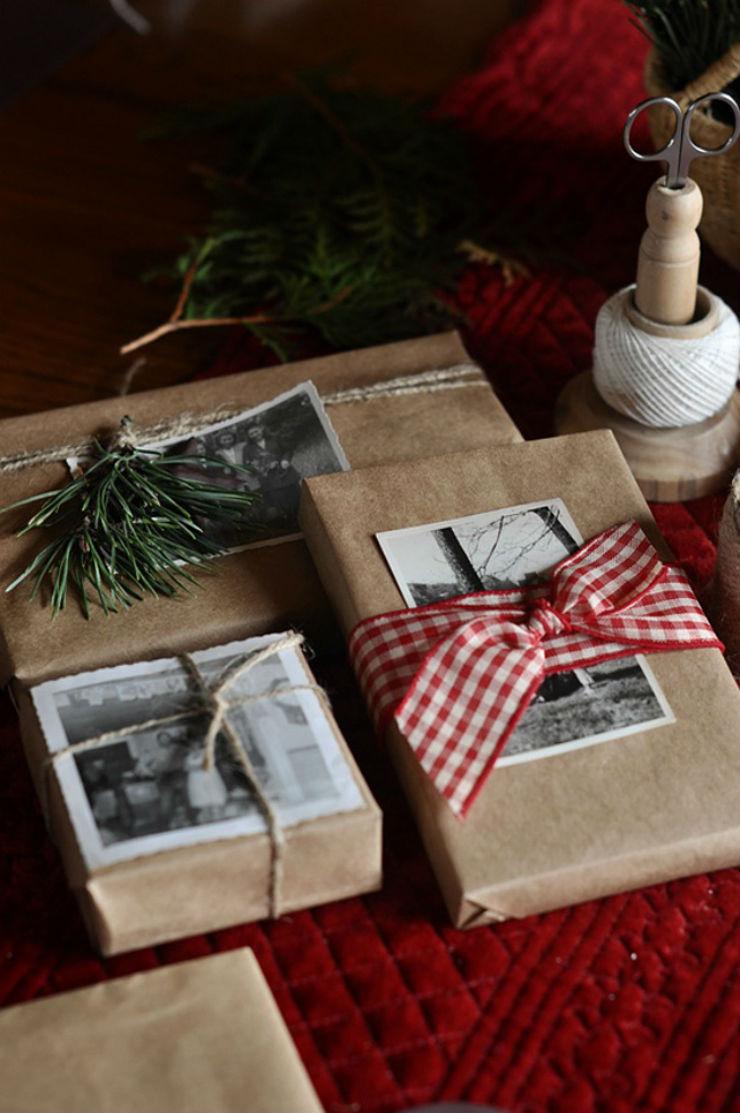 Χριστουγεννιάτικα δώρα. Ιδέες περιτυλίγματος.