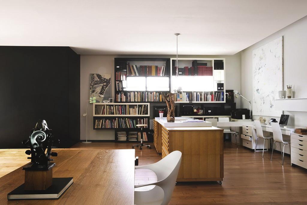 γραφείο στην κουζίνα