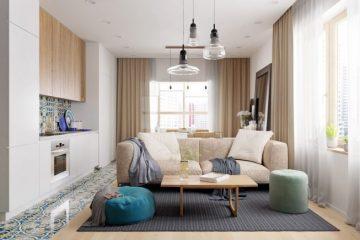 ένα μικρό και λειτουργικό διαμέρισμα