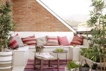Ιδέες διακόσμησης για όμορφο μπαλκόνι