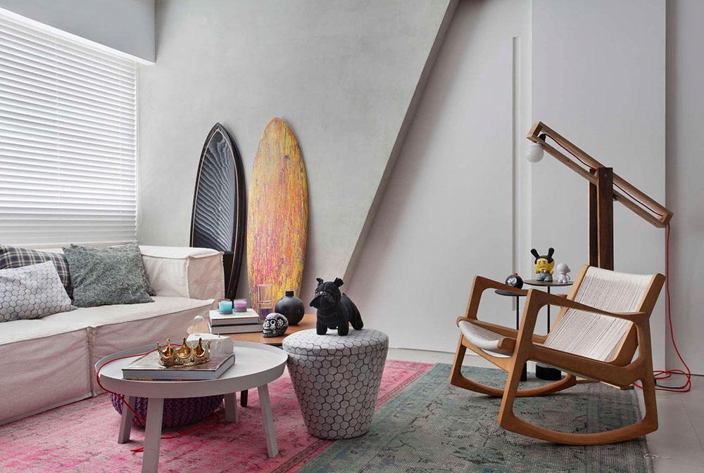 Ένα μικρό και νεναικό διαμέρισμα. Studio-ro+ca-VF-House